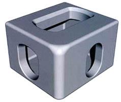 Cornercasting Aluminium