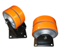Bokwiel / Fixed Castors