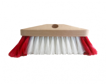 broom with soft hairs