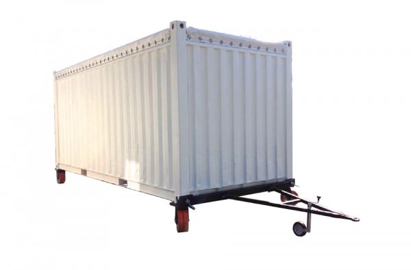 Containerwiel triangel combinatie