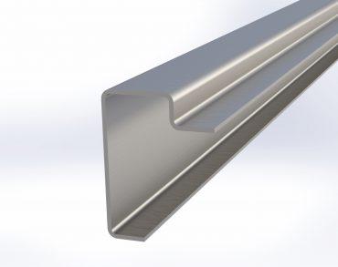 Front bottom rail